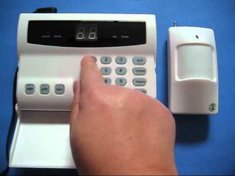 Wireless Home Security System In Action