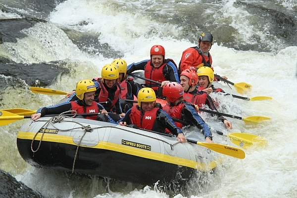 5 Exotic Places To Go White Water Rafting