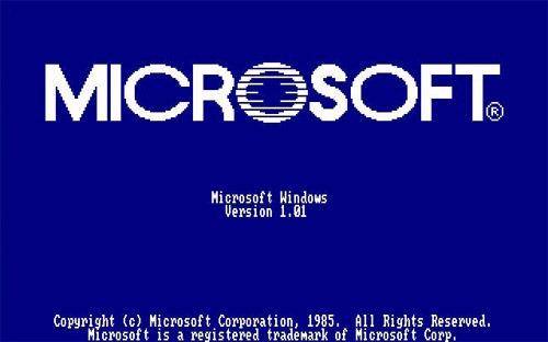 A Blast From Microsoft's Past Windows 1.0