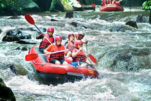 White Water Rafting In Winter
