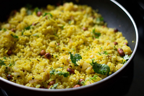 The Preparations Of Poha
