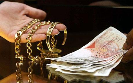 Selling Golden Jewellery