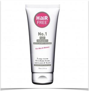 Removing Facial Hair With HairFree No.1