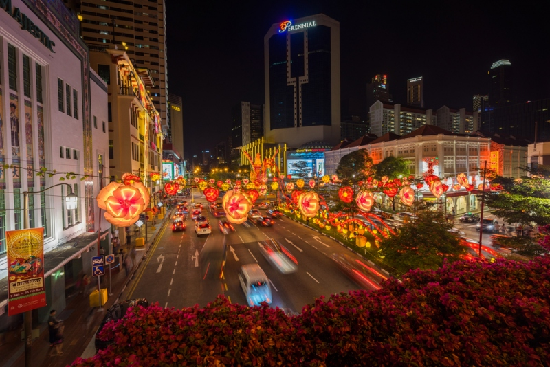 Indulge In The Chinese New Year Celebrations In Singapore